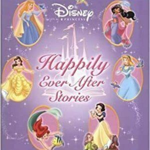 Disney Princess happily ever after stories book297